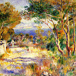 L'Estaque – 1882, Pierre-Auguste Renoir