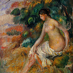 Nude in the Greenery, Pierre-Auguste Renoir