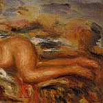 Nude on the Grass - 1915, Pierre-Auguste Renoir