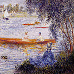 Boating at Argenteuil – 1873, Pierre-Auguste Renoir