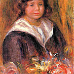 Portrait of a Boy - 1916, Pierre-Auguste Renoir