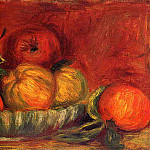 Still Life with Apples and Oranges - 1897, Pierre-Auguste Renoir