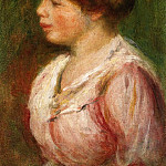 Portrait of a Young Woman, Pierre-Auguste Renoir