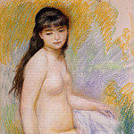 Pierre-Auguste Renoir - Seated Bather - 1883