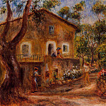 House in Collett at Cagnes - 1912, Pierre-Auguste Renoir