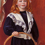 Pierre-Auguste Renoir - Portrait of Jean Renoir (also known as Child with a Hoop) - 1898