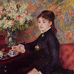 Pierre-Auguste Renoir - The Cup of Chocolate - 1878