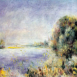 Banks of the River - около 1874-1876, Pierre-Auguste Renoir