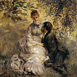 Pierre-Auguste Renoir - The Lovers - 1875