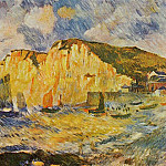 Cliffs – 1883, Pierre-Auguste Renoir