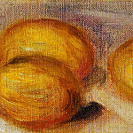 Three Lemons - 1918, Pierre-Auguste Renoir