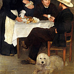 Pierre-Auguste Renoir - The Inn of Mother Anthony - 1866