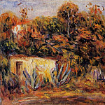 Cabin with Aloe Plants – 1913, Pierre-Auguste Renoir