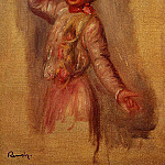 Dancer with Castenets - 1895, Pierre-Auguste Renoir
