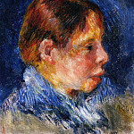 Portrait of a Child, Pierre-Auguste Renoir