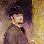 Self Portrait at the Age of Thirty-Five – 1876, Pierre-Auguste Renoir
