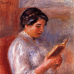 Woman Reading - 1906, Pierre-Auguste Renoir