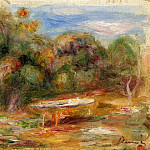 In the Garden at Collettes in Cagnes, Pierre-Auguste Renoir