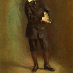The Little School Boy - 1879, Pierre-Auguste Renoir
