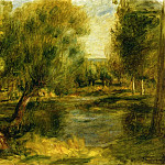 Pierre-Auguste Renoir - Banks of the River2