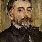Portrait of Stephane Mallarme - 1892, Pierre-Auguste Renoir