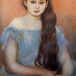 Portrait of a Young Girl, Pierre-Auguste Renoir
