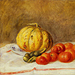Pierre-Auguste Renoir - Melon and Tomatos - 1903