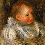 Portrait of Coco - 1904 - 1905, Pierre-Auguste Renoir