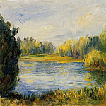 The Banks of the River, Pierre-Auguste Renoir