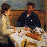 The Luncheon - 1879, Pierre-Auguste Renoir