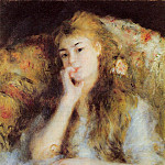 The Thinker – 1877, Pierre-Auguste Renoir