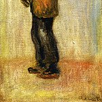 Man Carrying a Boy, Pierre-Auguste Renoir