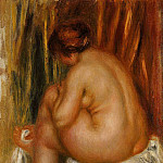 After Bathing После купания 1910, Pierre-Auguste Renoir