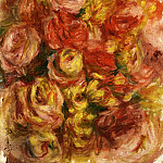 Study of Flowers - 1914, Pierre-Auguste Renoir