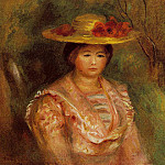 Bust of a Woman , Pierre-Auguste Renoir