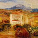 Landscape with White House, Pierre-Auguste Renoir