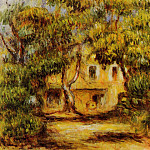 The Farm at Collettes - 1915, Pierre-Auguste Renoir