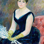 Pierre-Auguste Renoir - Madame Leon Clapisson (also known as Marie Henriette Valentine Billet) - 1883