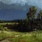 Ivan Ivanovich Shishkin - Before the storm 1884 110х150