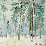 Ivan Ivanovich Shishkin - Forest of frost. 1890. Etude 13, 2h21, 2