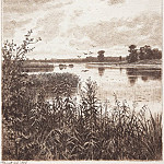 On the river after a rain. 1887 21, 8h15, 3, Ivan Ivanovich Shishkin