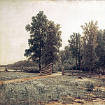 Ivan Ivanovich Shishkin - On the edge of oak forest in 1882 86h139