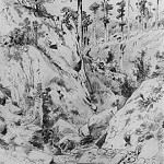 Crimean kind. At Yalta. 1879 45, 6h31, Ivan Ivanovich Shishkin