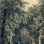 Ivan Ivanovich Shishkin - Alley Summer Garden in St. Petersburg 1869 54, 5h40. 3