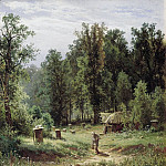 Apiary in the woods 1876 80h64, Ivan Ivanovich Shishkin