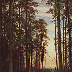Evening in a pine forest 116h87 1875. 7, Ivan Ivanovich Shishkin