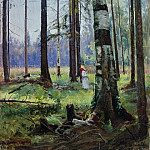 Edge of the Forest 1870-E 75. 5H54. 5, Ivan Ivanovich Shishkin