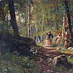 Walk in the woods in 1869 34. 3h43. 3, Ivan Ivanovich Shishkin