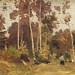 Landscape. Edge of the Forest. Etude, Ivan Ivanovich Shishkin