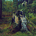Landscape with the stump in 1892 36. 8h60, Ivan Ivanovich Shishkin